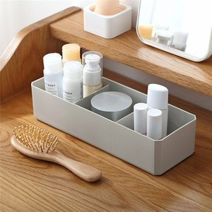 Classificados armazenamento antiderrapante Cosmetic penteadeira desktop Diversos Armazenamento Box Office Box Wearable Durable # 4MM15