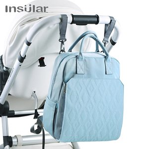 Waterproof Diaper Bag Backpack Nylon Large Capacity Hanging Stroller Organizer for Baby Mom Dad Maternity Tole Bag