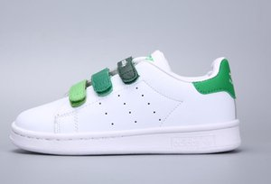 Adidas Stan Smith 2018 Kinder Superstar Schuhe Original White Gold Baby Kinder Superstars Sneakers Originals Super Star Mädchen Jungen Sport Casual Schuhe 24-35
