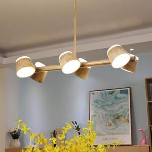 Moderne Dinning Room Drehbare Kronleuchter Nordic LED Kronleuchter Beleuchtungskörper Nordic Wohnzimmer-hängende Lampe / Suspension