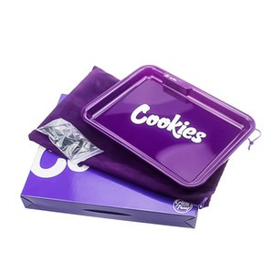 Rechargeable Cookies Rolling Tray Glow Cigarette Tray 550mah Built-in Battery LED Light Glowtray Quick Charge Runtz With Gift Packaging DHL