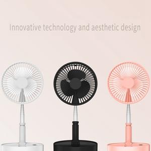 Ventilatori portatili USB telescopica pieghevole mini ventilatore elettrico LED VENTOLA USB Desk ricaricabile Fan pieghevole Landing Fan all'ingrosso DBC BH3810
