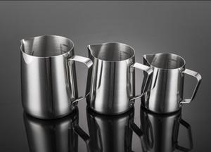 12 унций 350 мл из нержавеющей стали кувшин для вспенивания молока кувшин для капучино кофейная кружка наливная кружка эспрессо чашка латте арт кружка