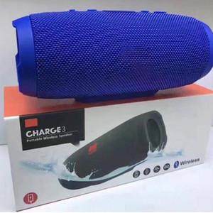 E3 portátil sem fio Bluetooth Speaker Waterproof SoundBox Stereo com música / Volume Controle frete grátis