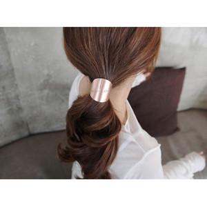 2017 Новое прибытие Hairbands Модные металла волос Cuff Ленточные Галстуки Elastic для хвостик Держатели Аксессуары для женщин Горячие продажи