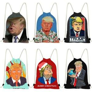 Trump Rucksack Luxus Taschen Umhängetasche Messenger Einkaufstasche Tote-Kupplungs-Schulter-Beutel 2020 New Arrival # 433
