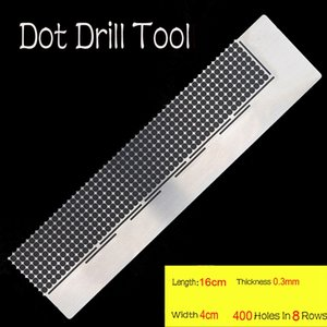 5D DIY Diamond Painting Ruler Square Round Drills Diamond Embroidery Accessories Mesh Ruler Stainless Steel Tool