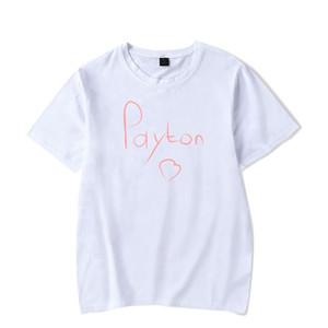Payton moormeier tshirt uomini donne bambini stampati divertente maglietta 2020 parti superiori Social Media Stars Stampato estate Kawaii Unisex Harajuku