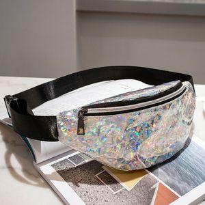 Waist Bag Female Belt New Waterproof Chest Handbag Unisex Fanny Pack Ladies Waist Pack Belly Bags Purse #