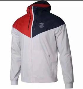 Paris 2019-20 sezonu Man City Aguero toz ceket DE BRUYNE spor STERLING tam fermuar rüzgarlık ceket hoodies