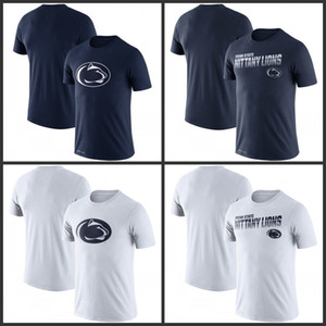 Penn State Nittany Lions Sideline Legend Desempenho Camisetas Impresso manga curta O-Neck Tee College Football Team Sports T-shirts