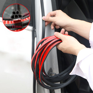 5 10 16 25M Car Styling Upgrade B Shape Rubber Anti-collision Seal Car Door Sealing Strip Sound Insulation Weatherstrip