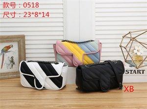 Tasarımcı çanta Yüksek Kaliteli Lüks Cüzdan Ünlü çanta Çantalar çanta Crossbody Soho Çanta Disko Gökkuşağı renk ekleme Shoulderbag womens