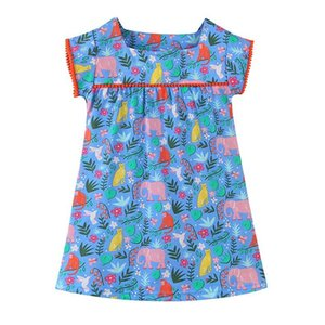 ins Designer embroidery Girls Dress Flower Kids Clothing Autumn Fashion Sleeveless Vest Embroidery Princess Party Dress