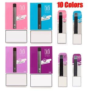 BIDI Stick monouso Dispositivo Pod Starter Kit 280mAh Cartridge 1.4ml Batteria 300 soffi Vape Svuotare penna 10 colori VS Bar EON PLUS flusso