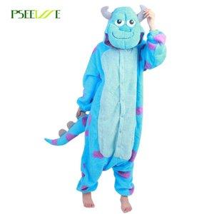 Venta al por mayor pijamas Animal Hombres Mujeres ONESIES para adultos traje de Cosplay unisex conjuntos de pijamas ropa de noche del pijama feminino inverno