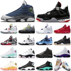air jordan retro Rivals LUCKY GREEN 13 13s hommes chaussures de basket-ball chapeau et robe de chat noir Flint Playoff Hommes Chaussures de sport formateurs