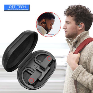 A9 TWS Wireless Sports Headphones Bluetooth 5.0 Earphones Ear Hook Running Noise Cancelling Stereo Earbuds With MIC Waterproof