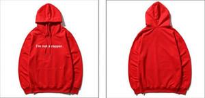Ein Rapper lose Mens starke Hoodies Frühlings-lange Hülse gedrucktes Paare Sweatshirts Designer Homme Hoodie J I Am Not