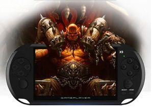 Игровая приставка X9 Handheld Game Player для поддержки PSP Retro Game 5.0Inch TV Out с Mp3 Кинокамера Мультимедиа горячей продажи