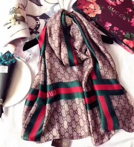 Yeni Lüks Atkı Kadınlar Eşarp İpek Kaşmir Tasarımcılar Moda Atkı Şal Bayanlar Eşarplar Boyut 180 * 90cm Ücretsiz Kargo