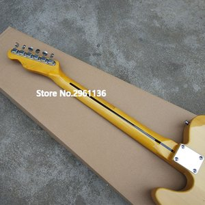 High quality electric guitar, TL style,Basswood body with Maple neck,natural color,Custom electric guitar,free shipping