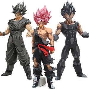 26-34cm MSP Maestro estrellas Son Goku Vegeta pieza de chocolate Figuras de Acción PVC Dimensiones Manga Dragon Ball Z Colección Modelo muñeca T190925