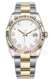 Alta qualidade luxo moda moda relógios de pulso m126233 116234 116233 116231 116234 126334 18k ouro amarelo 36mm 41mm relógio automático dos homens