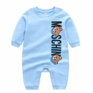 Новорожденного младенца Мальчики Девочки Одежда Cartoon 100% хлопок с длинным рукавом Комбинезоны для новорожденных Rompers повседневные Одежда для новорожденных Комплекты