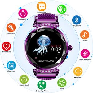 CHENXI H2 Smart Watch Frauen 2019 Neue Smart-Fitness-Armband-Frauen-Blutdruck-Herzfrequenz-Messung Bluetooth für Android IOS