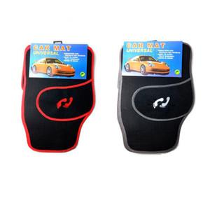 Para la mayoría de los coches Accesorios 4PCS especial del piso del coche Mats Custom Car Styling Alfombra cobertura universal