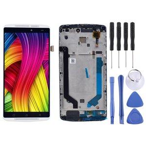 NOVA Tela LCD e Montagem Completa Digitador com Quadro para Lenovo K4 Note / A7010