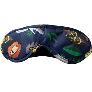 Light-blocking sleep mask breathable eye mask for women and men to rest and sleep artifact travel breathable eye mask polyester cloth