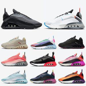 Nike Air Max 2090 Stock x Hochwertige Laufschuhe für Männer Frauen Mode b30 2090er Jahre Weiß Hellblau Bred Grün Pink Designer Turnschuhe Turnschuhe