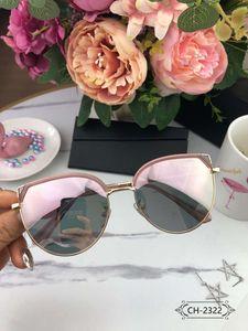 Лето D10 письма женские дизайнерские солнцезащитные очки Женщина кошка уха дизайн очки Солнцезащитные очки UV400 2322 высокое качество с коробкой