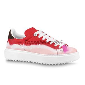 Buzağı Deri Kadınlar Lady Kauçuk Düz Loafer Spor Ayakkabıları Time Out Sneaker Çiçekler Kauçuk dış taban anatomik iç taban kazınmış bağcık delikleri ayakkabı