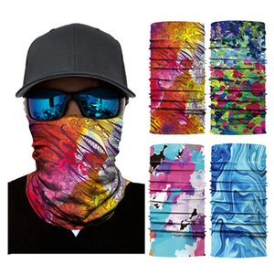 lag Digital Printed Multi Functional Scarf Face Dust Cover Outdoor Sport Cycling Head Face Magic Scarf Dustproof Windproof