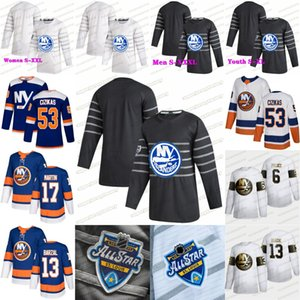 New York Islanders 2020 Alle Mathew Barzal Derick Brassard Brock Nelson Bailey Beauvillier Lehner Eberle Anders Lee Pulock Trikots Star Game