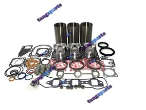 3TN75 Engine Rebuild kit For Yanmar excavator Snow Blower tractor loader forklift etc. engine repair part