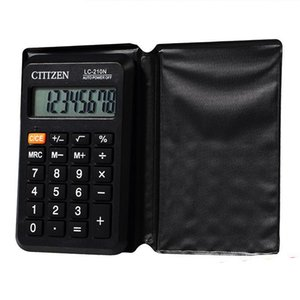Alta Qualidade 8 dígitos Function Calculator Mini calculadora Escola Estudante Scientific Electronic Calculadora Multifunctional