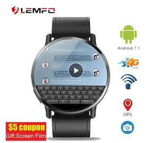 """LEMFO LEM X 2.03"""" 4G WIFI GPS Smart Watch Men Smartwatch Android 7.1 с 8-мегапиксельной камерой Smart Watches for Men Business Sport Watch"""