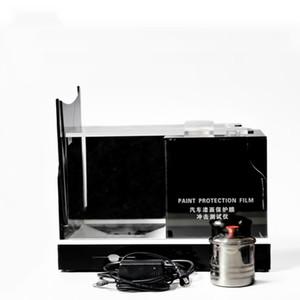 Última TPU PPF Films arañazos de Pruebas de Calidad de coches de alta pintura de prueba película de la protección de la máquina Gravelómetro con 3 piezas de metal Campanas MO-624
