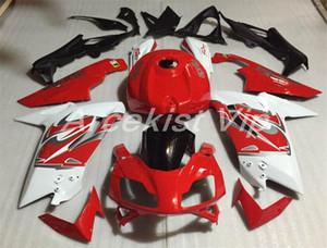 Heiße Verkäufe Spritzgießwerkzeug Neues ABS Motorrad Voll Fairing Kit Fit für Aprilia RS125 125 2006 2007 08 09 10 2011 RS4 individuelle Rot Weiß