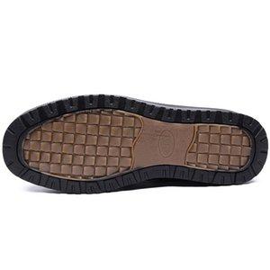 Warm Snow Boots Men Winter Casual Walking Shoes High Quality Male Comforatble Fur Ankle Boots Plus Size 2019