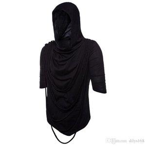 Mens Fashion 2021 Tshirt YT0 Time Men S Luxury T Shirt Hooded Crop Designer Leisure Cap Short Sleeve Shirts Tops Mens Clothes Clothing Fxav
