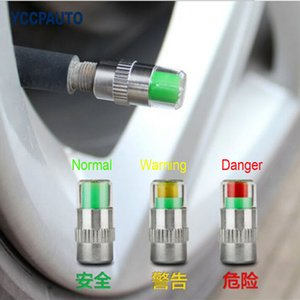 YCCPAUTO 2.4 Bar Car Tire Pressure Monitor Valve Stem Cap High Quality Sensor Indicator Diagnostic Tools Safty Car Accessories