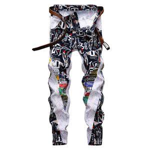 2020 mens skinny jeans Distressed Denim Motorcycle Designer Pants Streetwear jeans mens joggers designer sweatpants size 28-38
