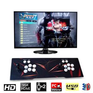 الجديدة [2199 3D HD ألعاب] باندورا 7 3D 1280 * 1080P 32GB ممر لعبة فيديو وحدة التحكم صندوق ممر آلة مزدوجة ممر جويستيك مع رئيس yx2199