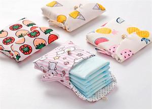 New Home Sanitary Napkin-Speicher-Beutel Wattepads Paket Beutel Münzen Schmuck Organizer-Kreditkarte-Beutel-Kasten Art und Weise Handtuch Taschen
