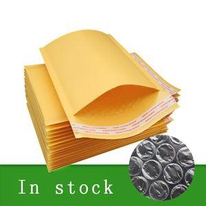 11 * 13 cm gelb Kuhfell Bubbles Taschen Shockproof wasserdichte hohe Qualität Selbstklebende Schmelzkleber-Verpackungs-Beutel-Großhandelspreis
